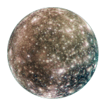 Callisto, moon of Jupiter