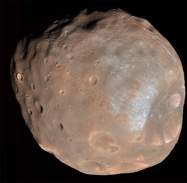 Phobos moon