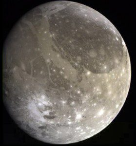 Ganymede, moon of Jupiter